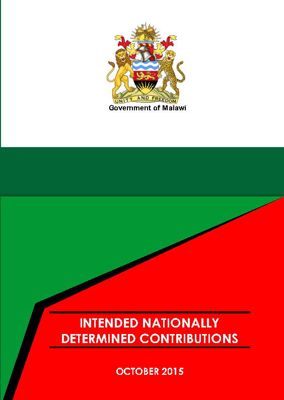MALAWI UNDERTAKES TO REVISE ITS NATIONALLY DETERMINED CONTRIBUTIONS